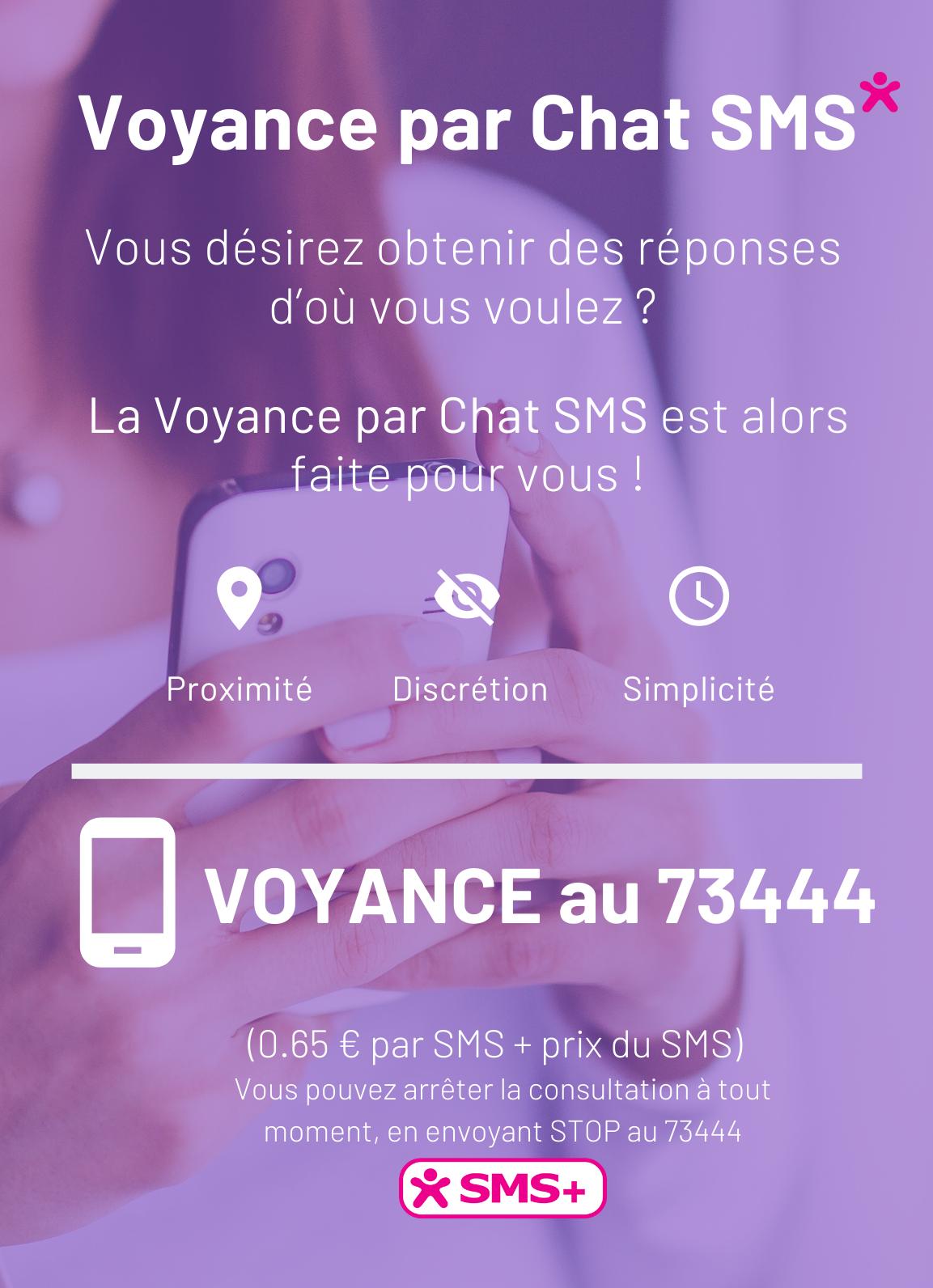 ASTROCLAIR FRANCE- Publicité Chat SMS - mobile